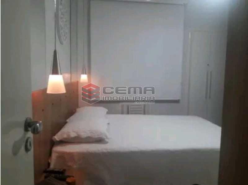 quarto - Apartamento à venda Rua Cândido Mendes,Glória, Zona Sul RJ - R$ 485.000 - LAAP11350 - 10