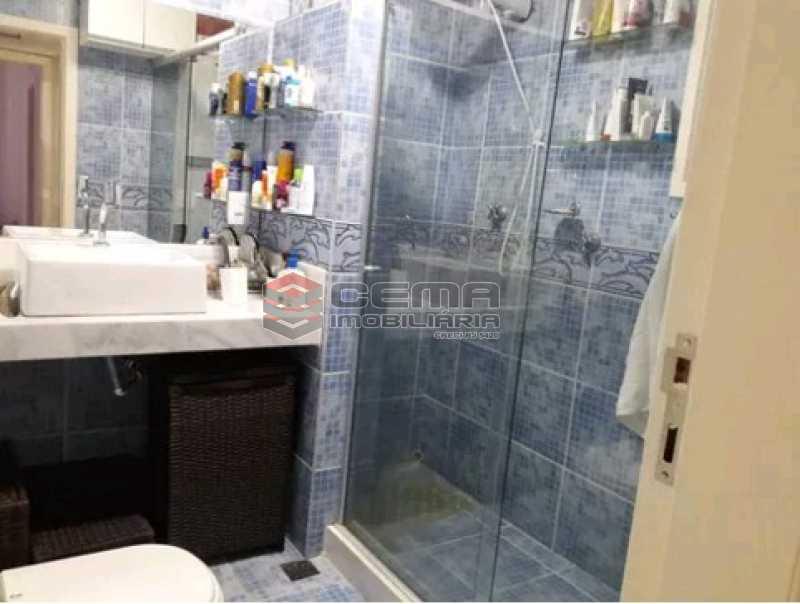 banheiro - Apartamento à venda Rua Cândido Mendes,Glória, Zona Sul RJ - R$ 485.000 - LAAP11350 - 17