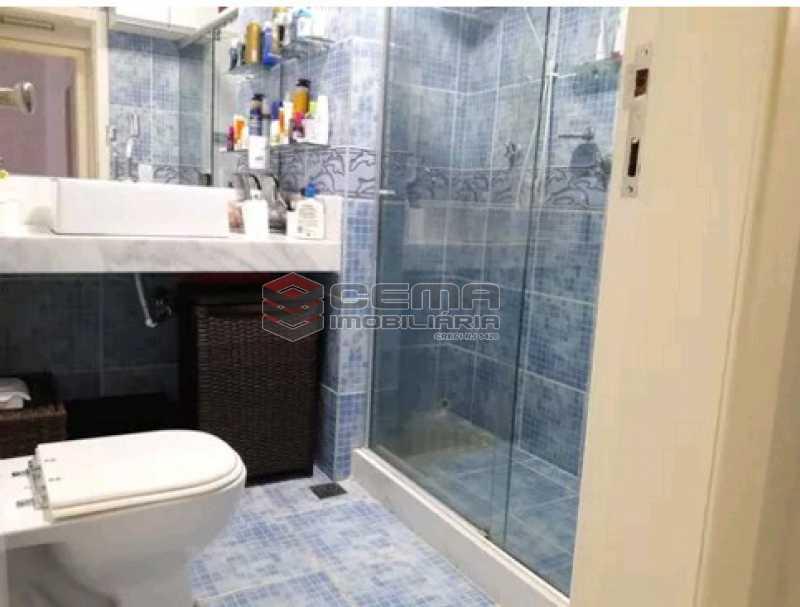 banheiro - Apartamento à venda Rua Cândido Mendes,Glória, Zona Sul RJ - R$ 485.000 - LAAP11350 - 18