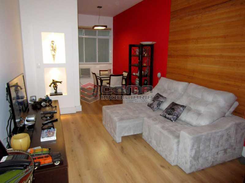 01 - Sala 1 1 - Apartamento 2 Quartos À Venda Leblon, Zona Sul RJ - R$ 1.220.000 - LAAP22350 - 1