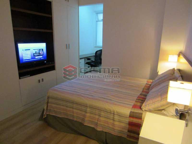02 - Quarto 2 - Apartamento 2 Quartos À Venda Leblon, Zona Sul RJ - R$ 1.220.000 - LAAP22350 - 6
