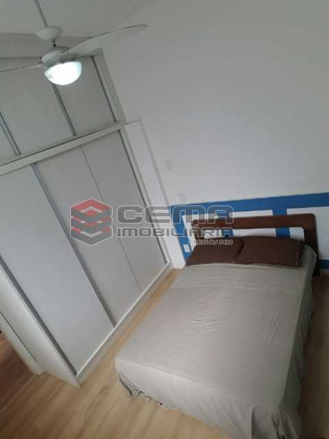 02 - Quarto 5 - Apartamento 2 Quartos À Venda Leblon, Zona Sul RJ - R$ 1.220.000 - LAAP22350 - 9