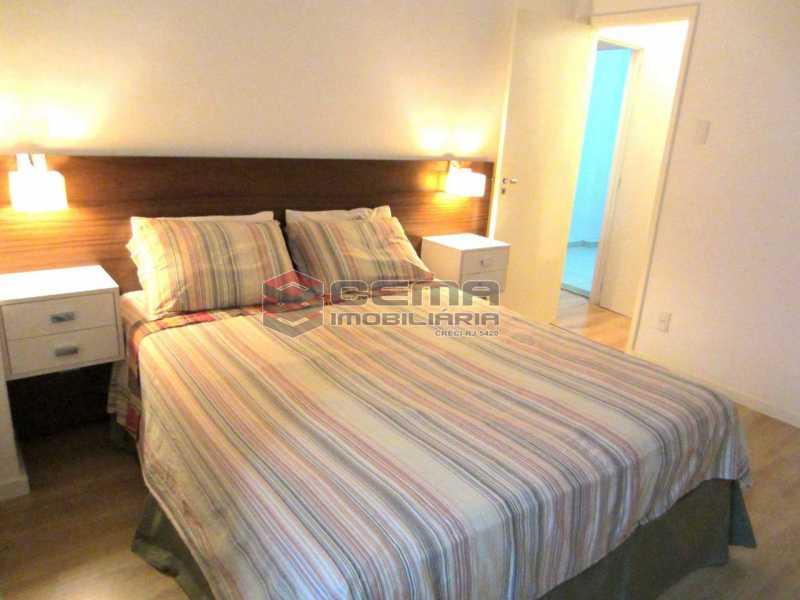 02 - Quarto 6 - Apartamento 2 Quartos À Venda Leblon, Zona Sul RJ - R$ 1.220.000 - LAAP22350 - 10