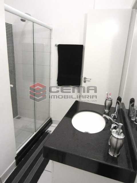 04 - Banheiro 2 - Apartamento 2 Quartos À Venda Leblon, Zona Sul RJ - R$ 1.220.000 - LAAP22350 - 15