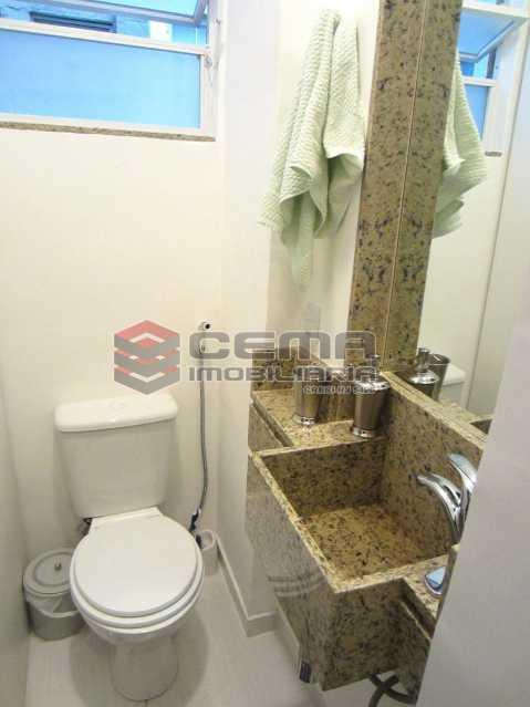 04 - Banheiro 3 - Apartamento 2 Quartos À Venda Leblon, Zona Sul RJ - R$ 1.220.000 - LAAP22350 - 16