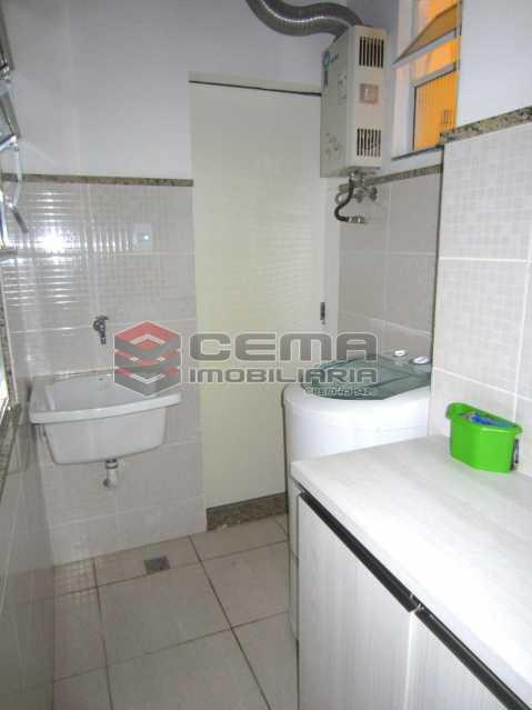 06 - Area Servico - Apartamento 2 Quartos À Venda Leblon, Zona Sul RJ - R$ 1.220.000 - LAAP22350 - 20