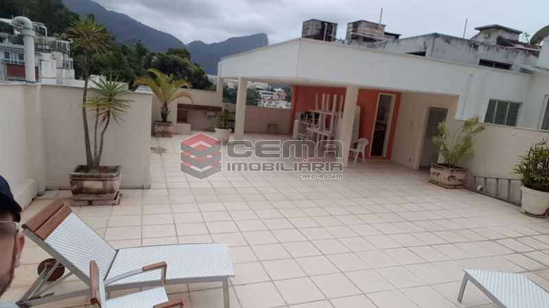 07 - Terraco 2 - Apartamento 2 Quartos À Venda Leblon, Zona Sul RJ - R$ 1.220.000 - LAAP22350 - 22