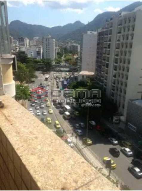 varanda - Apartamento à venda Rua do Humaitá,Humaitá, Zona Sul RJ - R$ 869.000 - LAAP31997 - 1
