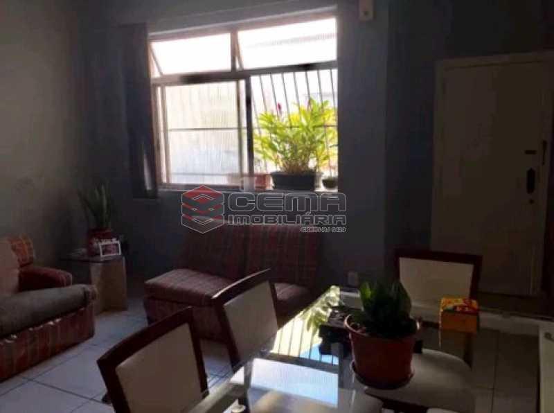 sala 1 - Apartamento à venda Rua do Humaitá,Humaitá, Zona Sul RJ - R$ 869.000 - LAAP31997 - 4