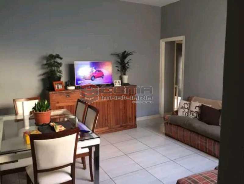 sala 2 - Apartamento à venda Rua do Humaitá,Humaitá, Zona Sul RJ - R$ 869.000 - LAAP31997 - 3