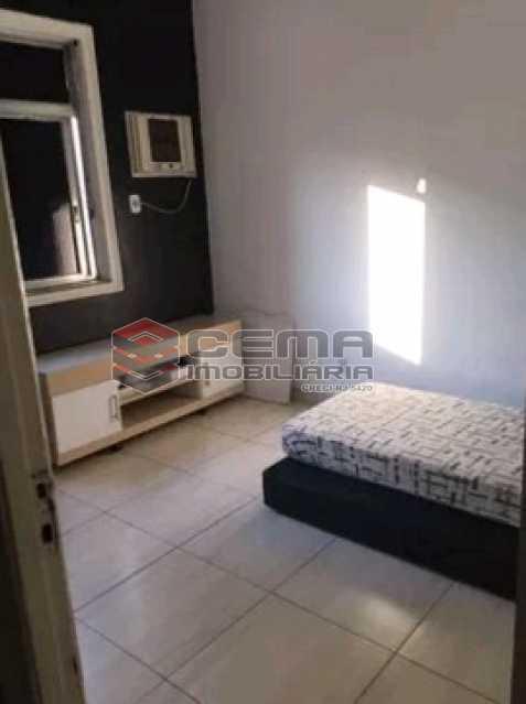 quarto 3 - Apartamento à venda Rua do Humaitá,Humaitá, Zona Sul RJ - R$ 869.000 - LAAP31997 - 6