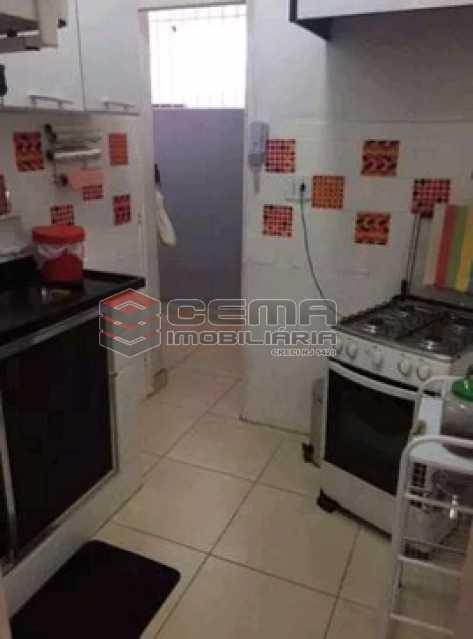 cozinha 1 - Apartamento à venda Rua do Humaitá,Humaitá, Zona Sul RJ - R$ 869.000 - LAAP31997 - 10