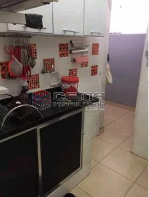 cozinha 2 - Apartamento à venda Rua do Humaitá,Humaitá, Zona Sul RJ - R$ 869.000 - LAAP31997 - 11