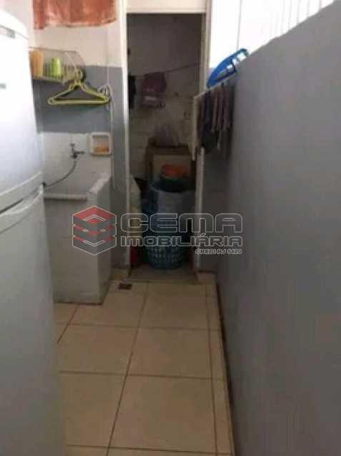 area de serviço - Apartamento à venda Rua do Humaitá,Humaitá, Zona Sul RJ - R$ 869.000 - LAAP31997 - 15