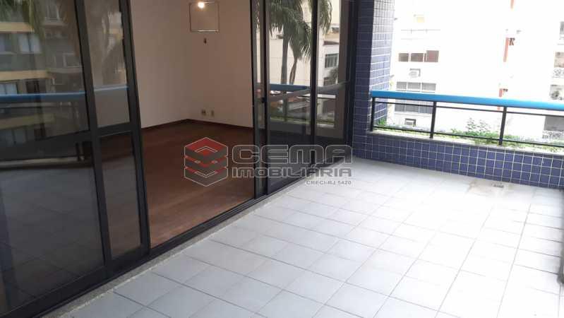 varanda - Cobertura 3 quartos à venda Flamengo, Zona Sul RJ - R$ 3.000.000 - LC30298 - 4