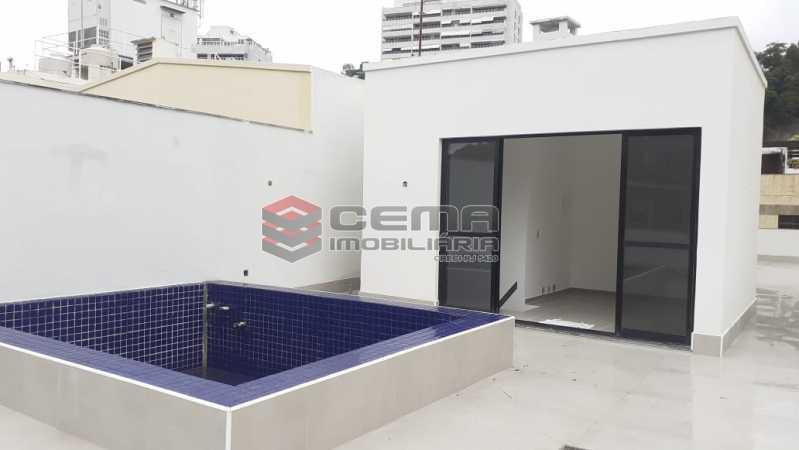 terraço - Cobertura 3 quartos à venda Flamengo, Zona Sul RJ - R$ 3.000.000 - LC30298 - 1