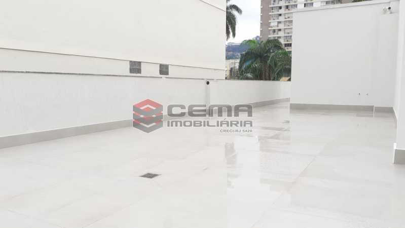terraço - Cobertura 3 quartos à venda Flamengo, Zona Sul RJ - R$ 3.000.000 - LC30298 - 24