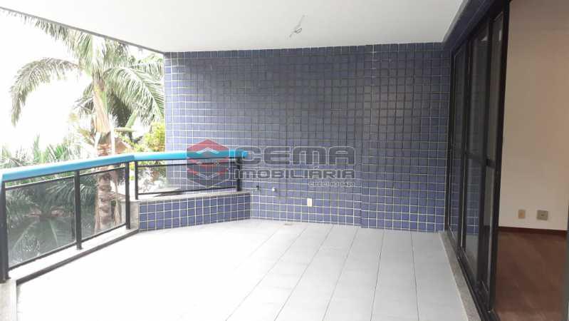 varanda - Cobertura 3 quartos à venda Flamengo, Zona Sul RJ - R$ 3.000.000 - LC30298 - 3