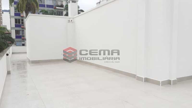 terraço - Cobertura 3 quartos à venda Flamengo, Zona Sul RJ - R$ 3.000.000 - LC30298 - 25