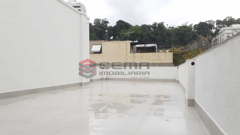 terraço - Cobertura 3 quartos à venda Flamengo, Zona Sul RJ - R$ 3.000.000 - LC30298 - 23