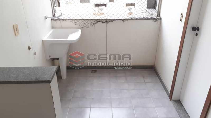 área de serviço - Cobertura 3 quartos à venda Flamengo, Zona Sul RJ - R$ 3.000.000 - LC30298 - 20