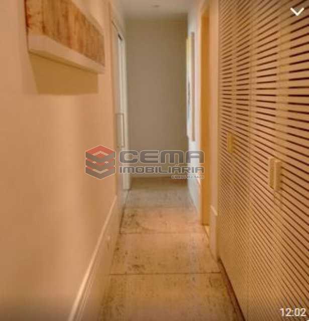 circulação - Apartamento à venda Rua Barão da Torre,Ipanema, Zona Sul RJ - R$ 950.000 - LAAP22458 - 5
