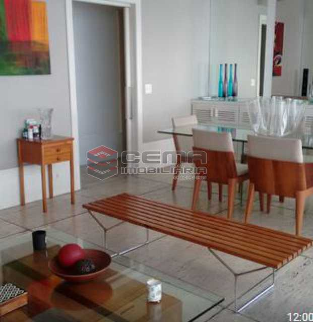 sala em dois ambientes - Apartamento à venda Rua Barão da Torre,Ipanema, Zona Sul RJ - R$ 950.000 - LAAP22458 - 15