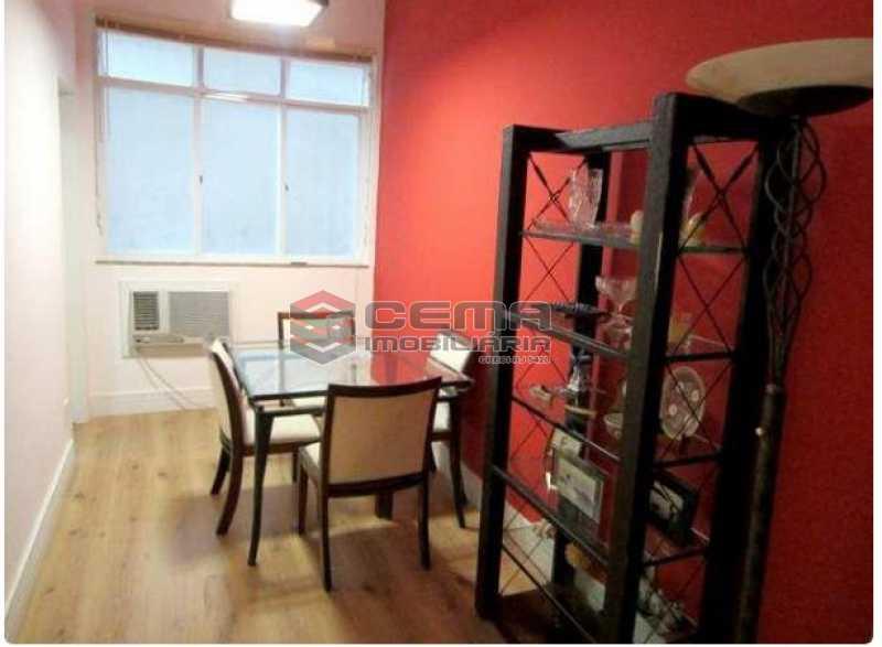 1.1.sala - Apartamento à venda Rua Engenheiro Cortes Sigaud,Leblon, Zona Sul RJ - R$ 1.100.000 - LAAP22470 - 4