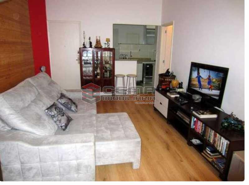 1.2.sala - Apartamento à venda Rua Engenheiro Cortes Sigaud,Leblon, Zona Sul RJ - R$ 1.100.000 - LAAP22470 - 3