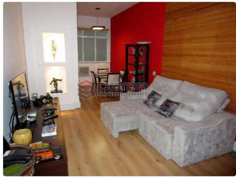 1.sala - Apartamento à venda Rua Engenheiro Cortes Sigaud,Leblon, Zona Sul RJ - R$ 1.100.000 - LAAP22470 - 1