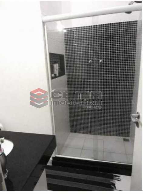 3.banheiro.social - Apartamento à venda Rua Engenheiro Cortes Sigaud,Leblon, Zona Sul RJ - R$ 1.100.000 - LAAP22470 - 9
