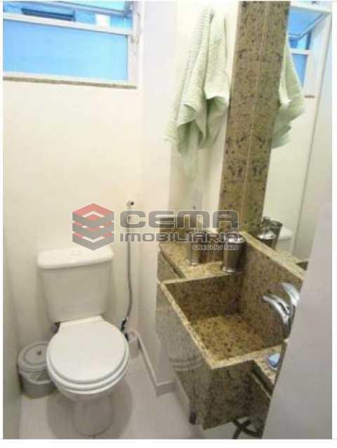 5.1.banheiro.social.2 - Apartamento à venda Rua Engenheiro Cortes Sigaud,Leblon, Zona Sul RJ - R$ 1.100.000 - LAAP22470 - 14