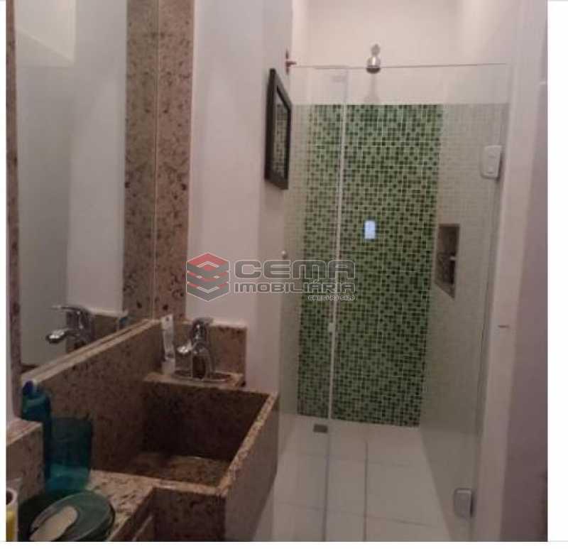 5.banheiro.social.2 - Apartamento à venda Rua Engenheiro Cortes Sigaud,Leblon, Zona Sul RJ - R$ 1.100.000 - LAAP22470 - 15