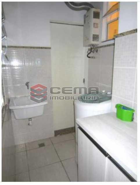 7.área - Apartamento à venda Rua Engenheiro Cortes Sigaud,Leblon, Zona Sul RJ - R$ 1.100.000 - LAAP22470 - 19