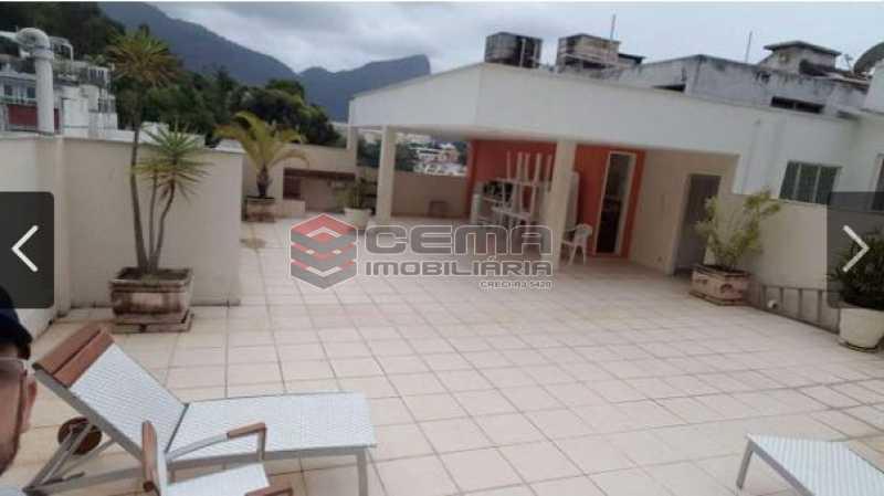 9.terraço - Apartamento à venda Rua Engenheiro Cortes Sigaud,Leblon, Zona Sul RJ - R$ 1.100.000 - LAAP22470 - 21