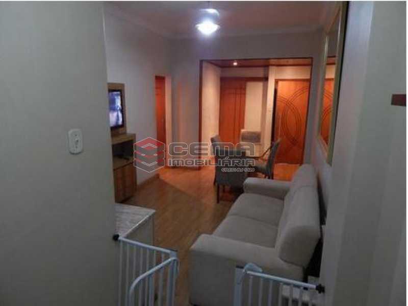 1sala2 - Apartamento 2 quartos à venda Catete, Zona Sul RJ - R$ 660.000 - LAAP22524 - 3