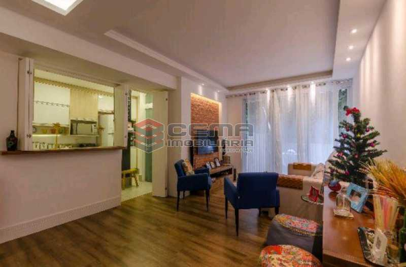 18 - Apartamento 2 quartos à venda Humaitá, Zona Sul RJ - R$ 1.280.000 - LAAP22561 - 3