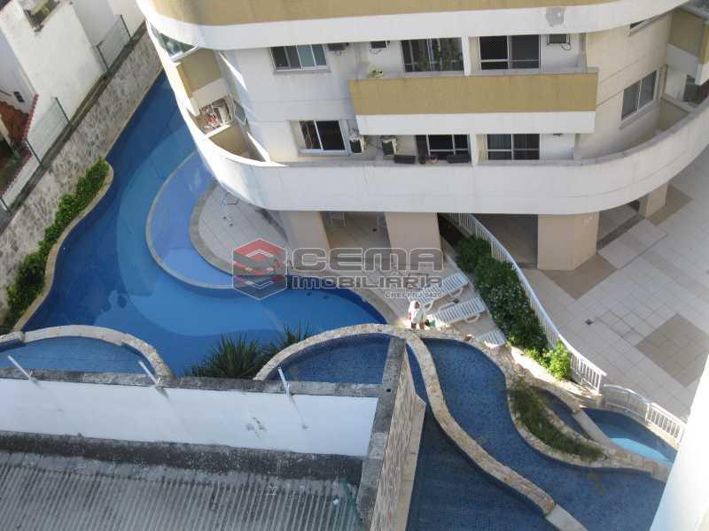 Vista infra - Apartamento 2 quartos para alugar Botafogo, Zona Sul RJ - R$ 4.700 - LAAP22639 - 5