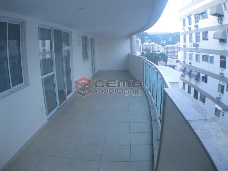 Varandão - Apartamento 2 quartos para alugar Botafogo, Zona Sul RJ - R$ 4.700 - LAAP22639 - 1
