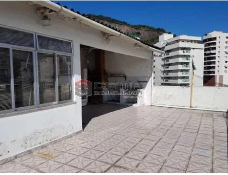 terraço - Prédio 1500m² à venda Rua General Polidoro,Botafogo, Zona Sul RJ - R$ 6.000.000 - LAPR00010 - 8