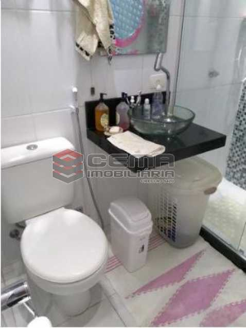 Banheiros - Cobertura 2 quartos à venda Copacabana, Zona Sul RJ - R$ 900.000 - LACO20078 - 9