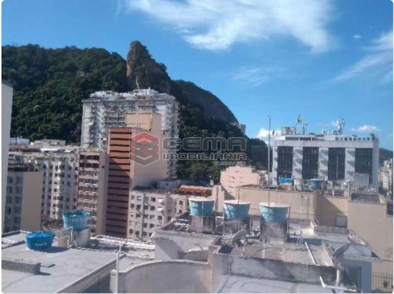 2 - Vista  - Cobertura 2 quartos à venda Copacabana, Zona Sul RJ - R$ 900.000 - LACO20078 - 3