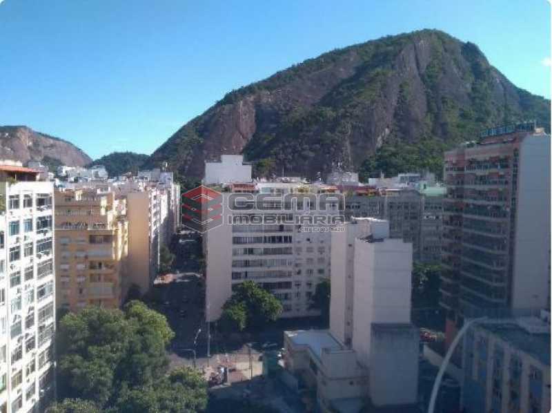 1 - Vista  - Cobertura 2 quartos à venda Copacabana, Zona Sul RJ - R$ 900.000 - LACO20078 - 1