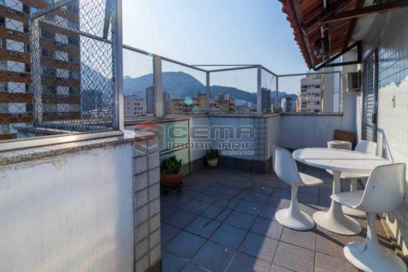 VISTA - Cobertura linear, 3 quartos em Botafogo com vaga. - LACO30176 - 3