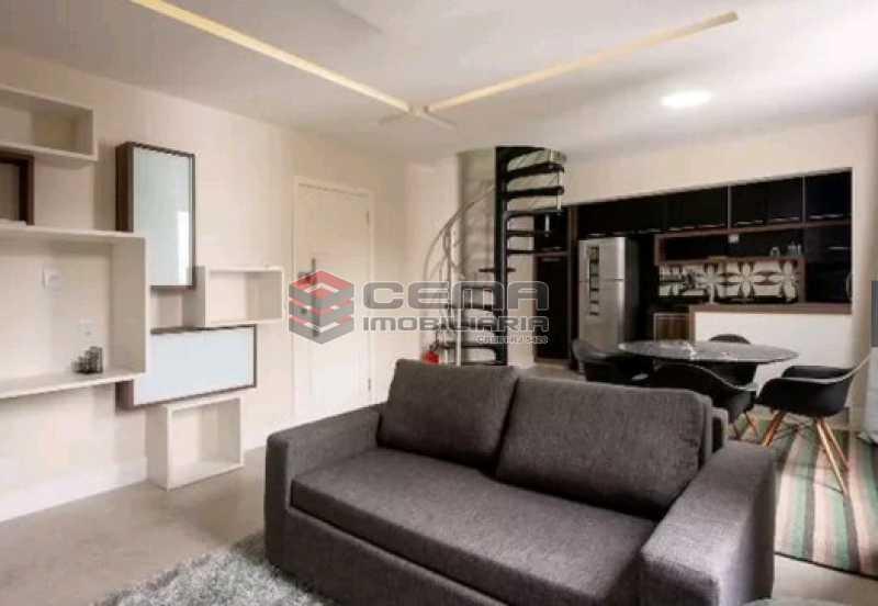 sala - Apartamento à venda Rua Conde Lages,Glória, Zona Centro RJ - R$ 800.000 - LAAP11548 - 3