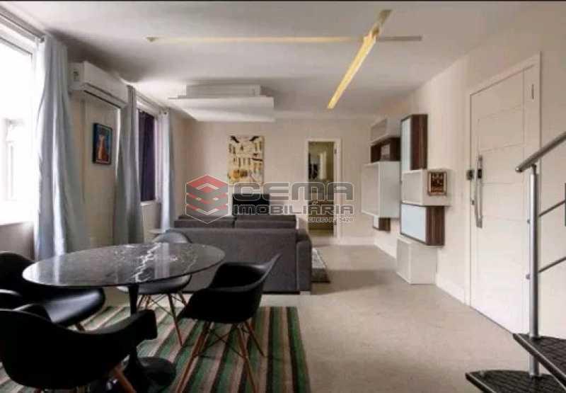 sala - Apartamento à venda Rua Conde Lages,Glória, Zona Centro RJ - R$ 800.000 - LAAP11548 - 1