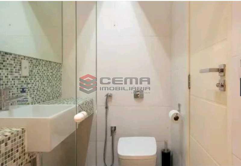 banheiro social - Apartamento à venda Rua Conde Lages,Glória, Zona Centro RJ - R$ 800.000 - LAAP11548 - 9