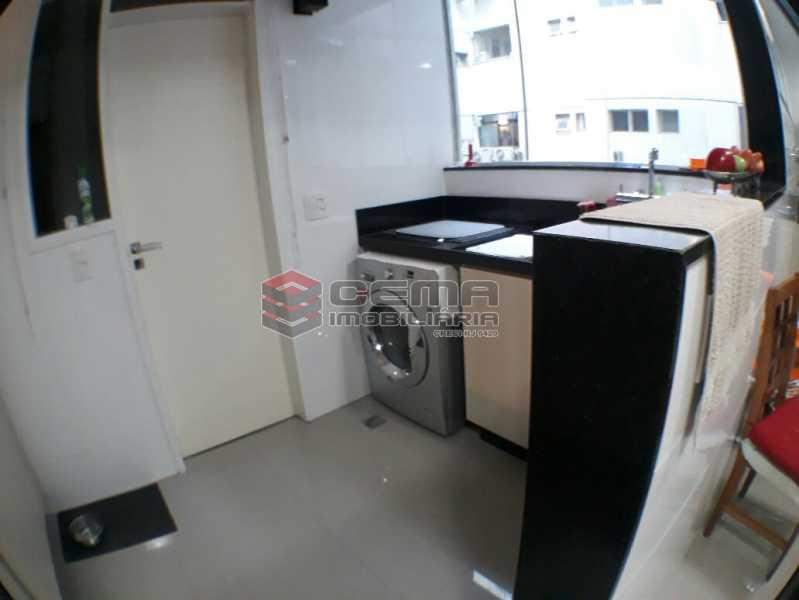 Área de serviço - Apartamento À Venda - Rio de Janeiro - RJ - Flamengo - LAAP22719 - 21