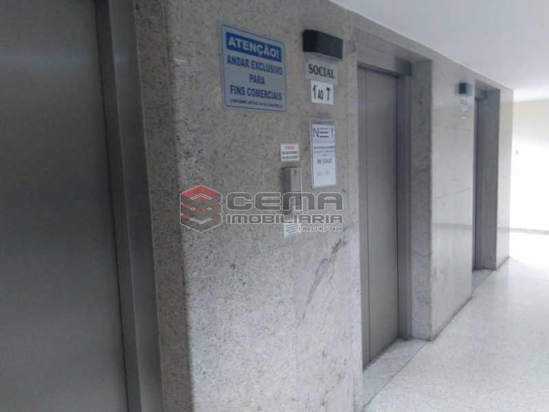 7.hall.elevadores - Sala Comercial 32m² à venda Rua Siqueira Campos,Copacabana, Zona Sul RJ - R$ 300.000 - LASL00325 - 16