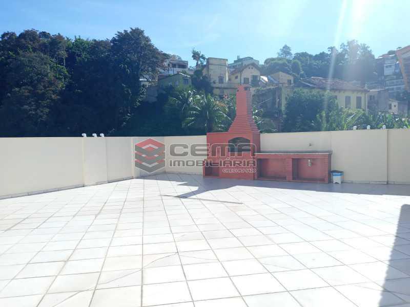 Terraço - Apartamento 1 quarto para alugar Glória, Zona Sul RJ - R$ 1.600 - LAAP11582 - 1
